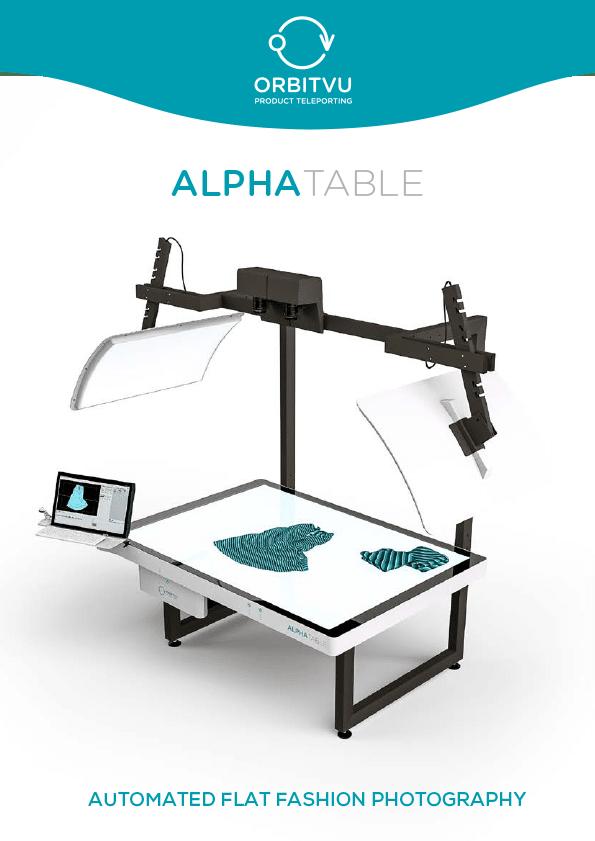 Download brochure Alphatable