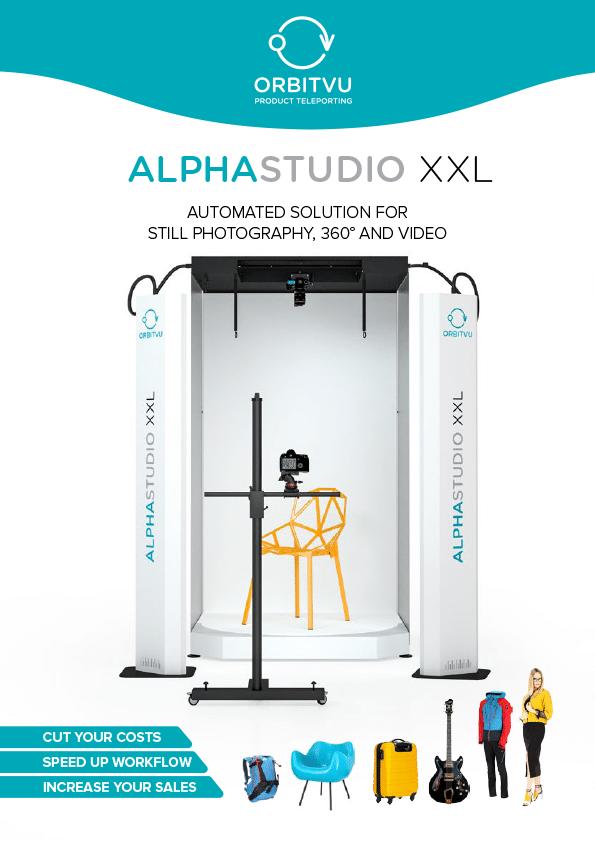 Download brochure Alphastudio XXL Pro