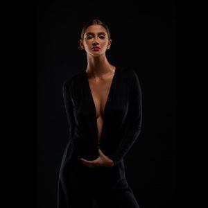 Orbitvu Fashionstudio Photographed model on black